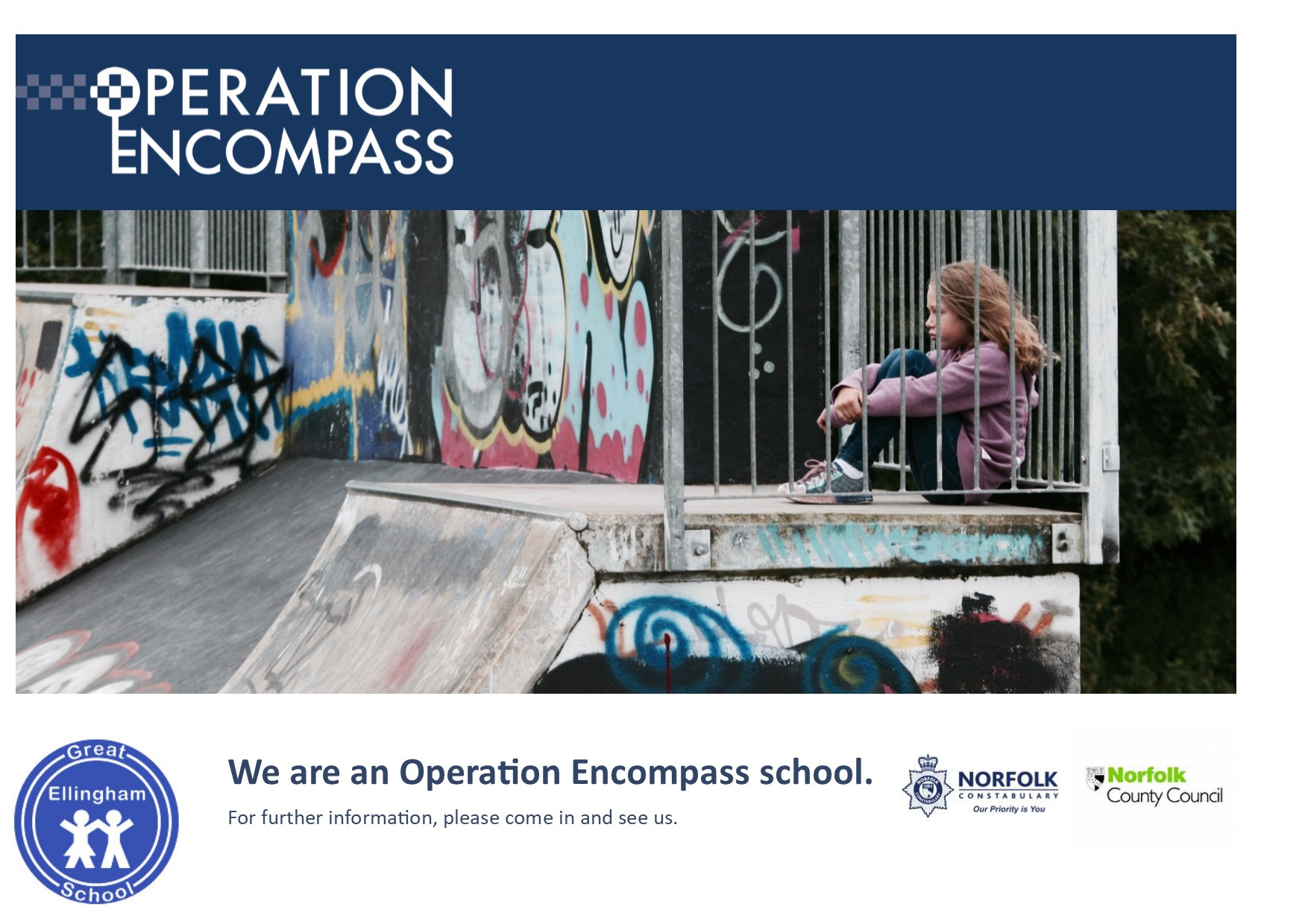 Operation Encompass poster (GE)