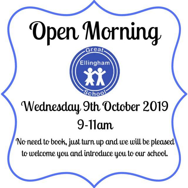 thumbnail of Open Morning 2019_Great Ellingham